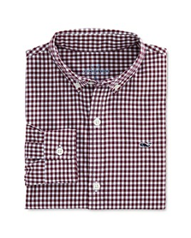 Vineyard Vines - Boys' Arawak Gingham Button-Down Shirt - Little Kid, Big Kid