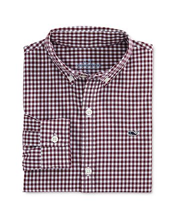 Vineyard Vines - Boys' Arawak Gingham Button-Down Shirt - Little Kid, Big Kid
