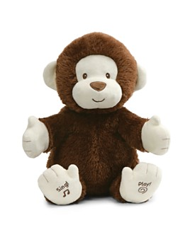 Gund - Animated Clappy Monkey - Ages 0+