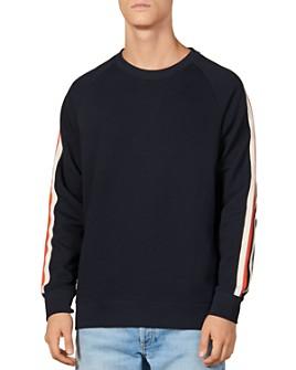 Sandro - Crew Varsity Sweatshirt