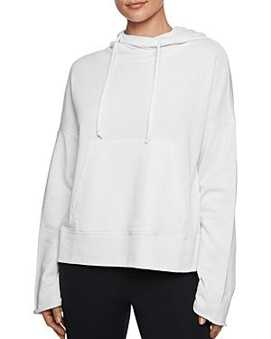 Betsey Johnson Bell-Sleeve Hooded Sweatshirt