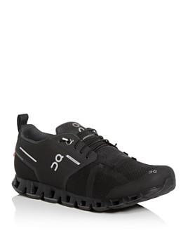 On - Men's Cloud Waterproof Low-Top Sneakers