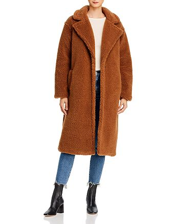 BB DAKOTA - Notch-Lapel Teddy Coat