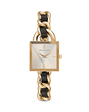 Michael Kors Mk Chain Lock Watch, 25mm x 25mm