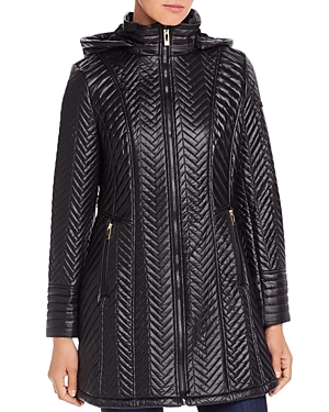 Via Spiga Chevron-Quilted Jacket-Women