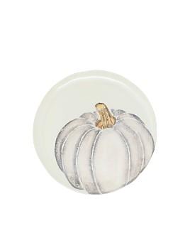 VIETRI - Pumpkins White Salad Plate