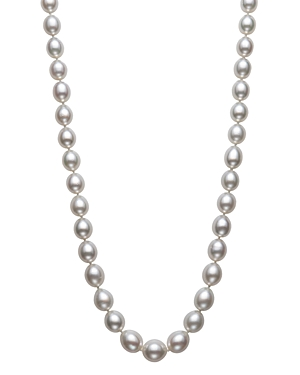 Bloomingdale's White South Sea Pearl Necklace in 14K Yellow Gold, 18 - 100% Exclusive
