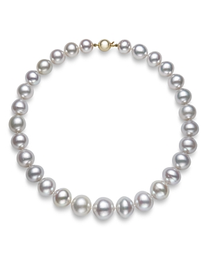 Bloomingdale's White South Sea Pearl Collar Necklace in 14K Yellow Gold, 17.5 - 100% Exclusive