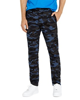 Avirex - Camo Drawstring Cargo Slim Fit Pants