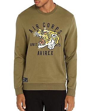 Avirex Tiger Logo Sweatshirt
