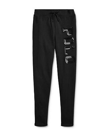 Ralph Lauren - Girls' Sequined Logo Pants - Big Kid