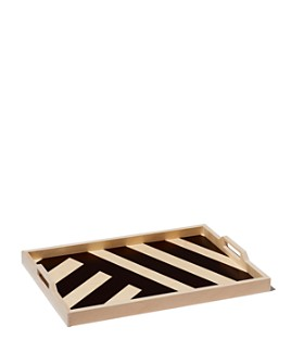 Wolfum - Black Stripe Serving Tray