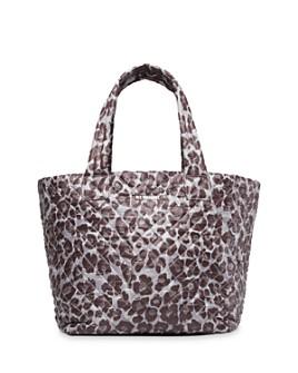 MZ WALLACE - Leopard-Print Medium Metro Tote
