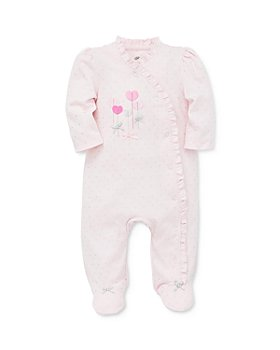 Little Me - Girls' Sweet Hearts Footie - Baby
