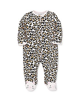 Little Me - Girls' Leopard Print Footie - Baby