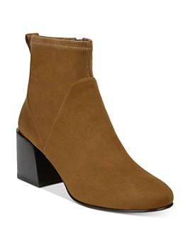 Via Spiga - Women's Diana Block-Heel Ankle Booties