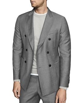 REISS - Woking Flannel Slim Fit Blazer