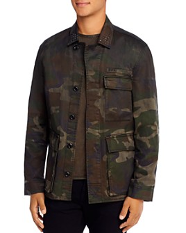 John Varvatos Star USA - Lydon Slim Fit Camo Jacket