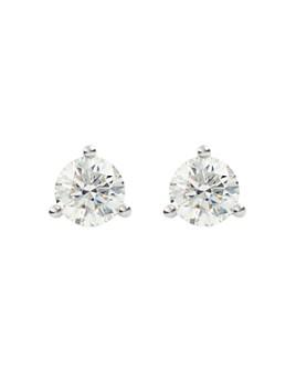 Lightbox Jewelry - Solitaire Lab-Grown Diamond Stud Earrings