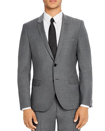 HUGO - Arti Micro Houndstooth Extra Slim Fit Suit Jacket