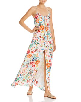 All Things Mochi - Melissa Floral Silk Maxi Dress