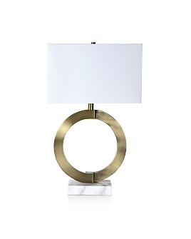 Ren-Wil - Skyler Brass & Marble Table Lamp