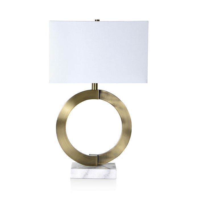 Ren-Wil - Skyler Brass & Marble Table Lamp