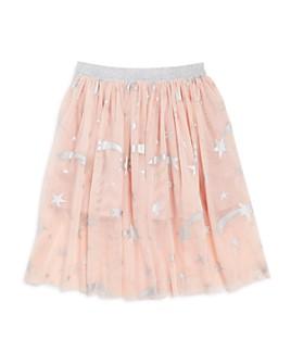 Stella McCartney - Girls' Foil Star Print Skirt - Little Kid, Big Kid