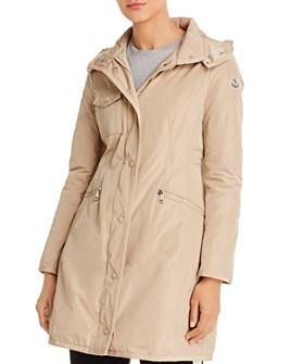 Moncler - Mauve Hooded Down Coat