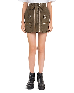 The Kooples Belted Utility Mini Skirt