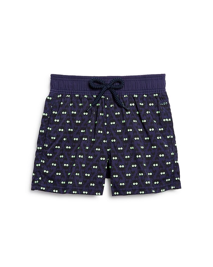 Vilebrequin - Kid's Glow-in-the-Dark Crabs Swim Trunks