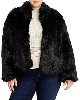 Unreal Fur Plus - Delicious Short Faux-Fur Coat
