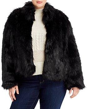 Unreal Fur Plus - Delicious Short Faux-Fur Coat