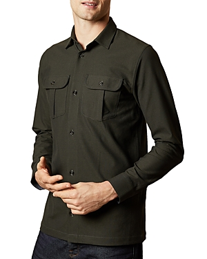 Ted Baker T-shirts BLATER SLIM FIT BUTTON-FRONT SHIRT - 100% EXCLUSIVE