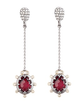 Alexis Bittar - Georgian Stone Chain Drop Earrings