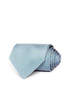 Salvatore Ferragamo - Mini Linked Gancini Silk Classic Tie