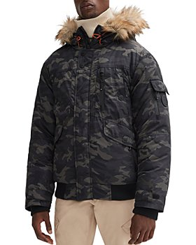 NOIZE - Regular Fit Hooded Bomber Jacket