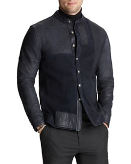 John Varvatos Collection - Suede & Leather Jacket