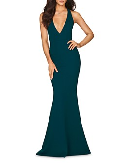Nookie - Jasmine Plunging Open Back Gown