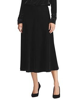 Ralph Lauren - Velvet Midi Skirt