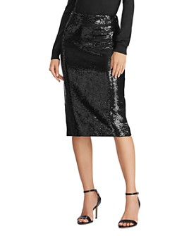 Ralph Lauren - Sequined Pencil Skirt