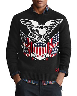 Polo Ralph Lauren - Eagle Wool-Cashmere Sweater