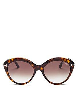 Tom Ford - Women's Maxine Round Sunglasses, 56mm