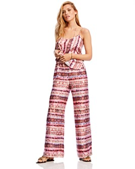 LINI - Brett Tie-Dye Wide-Leg Pants - 100% Exclusive