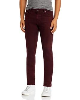 AG - Tellis Slim Fit Jeans in 7 Years Boysenberry