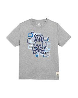 Psycho Bunny - Boys' Geometric Graphic Tee - Little Kid, Big Kid
