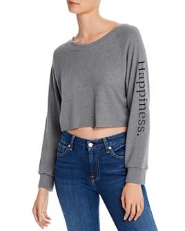 Rosie G - Happiness Cropped Sweatshirt