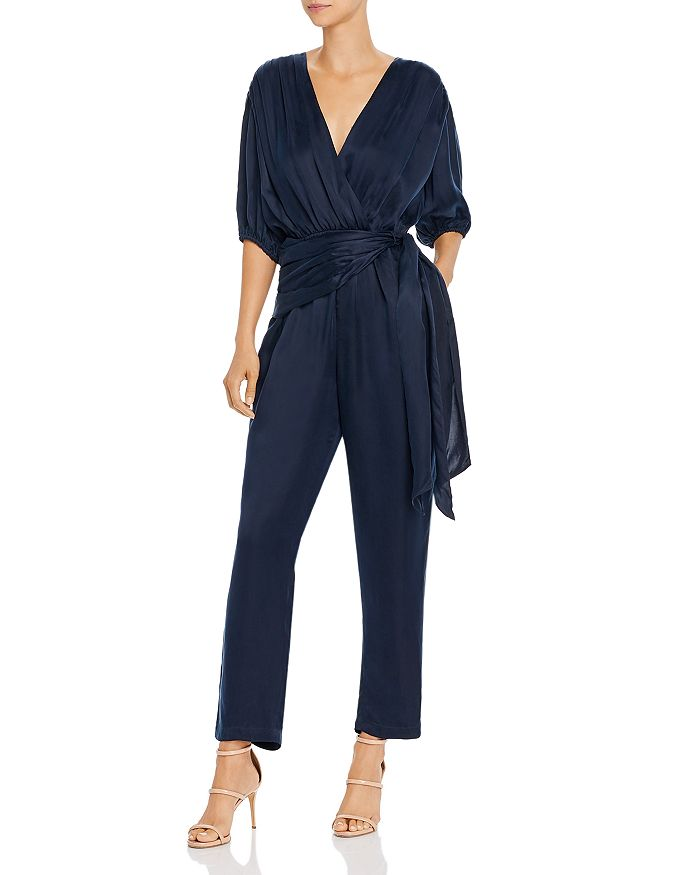 Joie - Adalie Belted Crossover Jumpsuit
