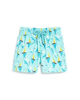 Vilebrequin - Boys' Boats On Water Swim Trunks - Little Kid, Big Kid