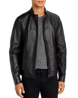 BOSS - Nardi Leather Jacket